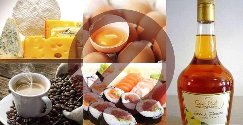 9 loại thực phẩm bà bầu không nên ăn