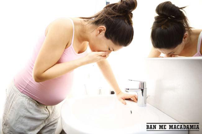 Bí quyết giảm ốm nghén cho các bà bầu