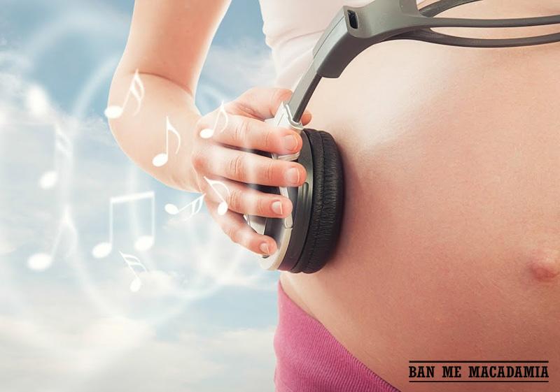 Nhạc cho bà bầu giúp bé thông minh từ trong bụng mẹ
