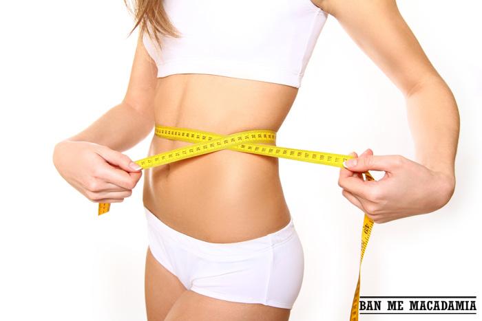 Tác dụng của hạt mắc ca: giảm cân và giảm mỡ bụng sau sinh